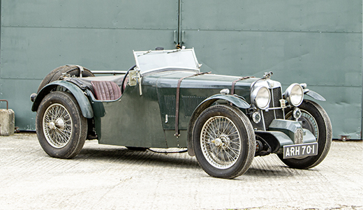 1933 MG L1 'K3 SPECIAL' TWO SEATER