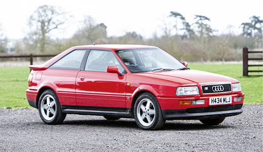 1991 AUDI QUATTRO TURBO 20V S2 COUPÉ