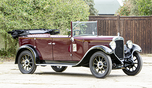 1930 AUSTIN HEAVY TWELVE OPEN ROAD TOURER DELUXE