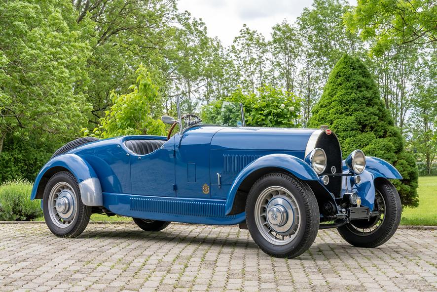 1933 Bugatti Type 49 Roadster